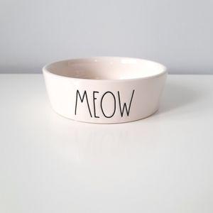 NWT Rae Dunn ceramic cat dish